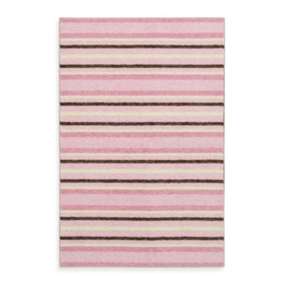 Mohawk Home Cuddle Baby Rug in Blush