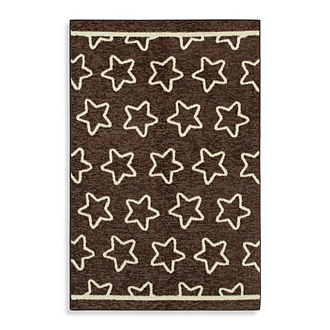 Mohawk Home Twinkle Baby Rug in Brown