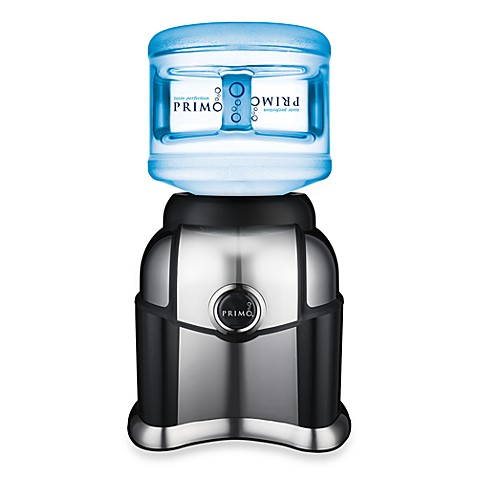 Primo Tabletop Bottled Water Dispenser in Black with Chrome