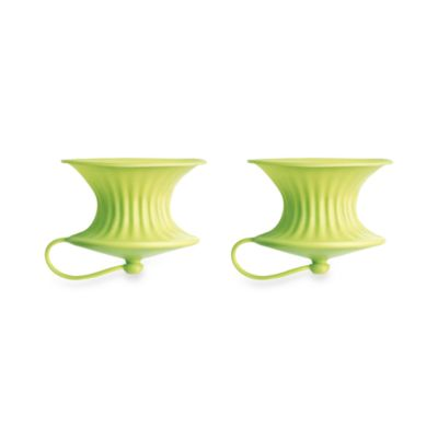 Lékué Green Lemon Squeezers (Set of 2)
