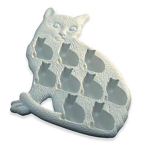 Lékué Classic Cat White Ice Cube Tray