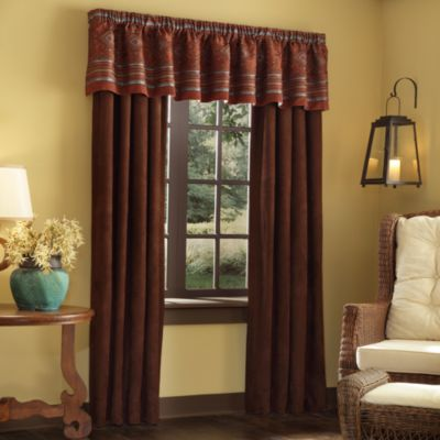 Pueblo 84-Inch Window Curtain Panel Pair