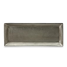 Donna Karan Lenox® Burnished Metal Small Rectangular Server