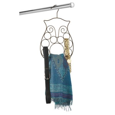 Owl Scarf and Belt Organizer