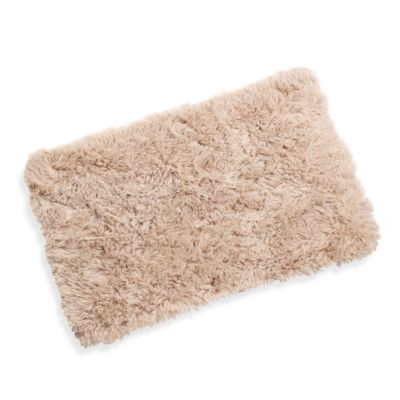 Soft Touch Memory Foam 1-Foot 8-Inch x 2-Foot 8-Inch Rug in Sand
