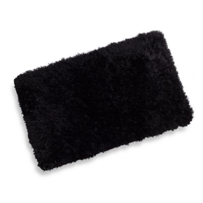 Soft Touch Memory Foam 2-Foot 3-Inch x 3-Foot 9-Inch Rug in Ebony