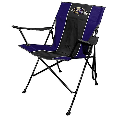 NFL Baltimore Ravens Deluxe Quad Chair