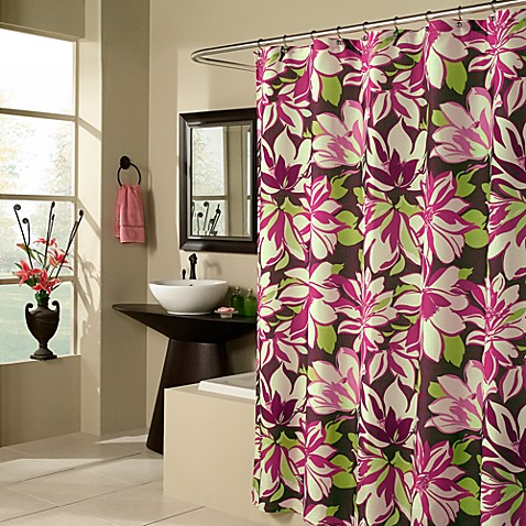M. Style Bloomsbury Floral Shower Curtain