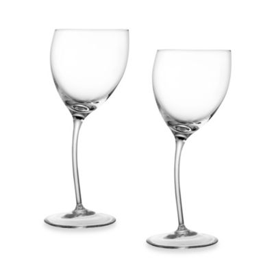 Nambe Tilt 10-Ounce Wine Glasses (Set of 2)