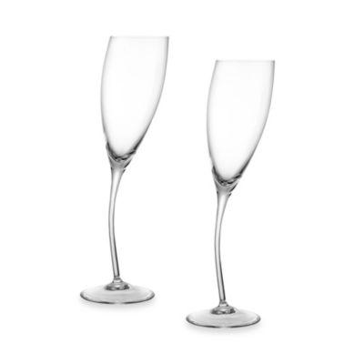 Nambe Champagne Glasses & Flutes