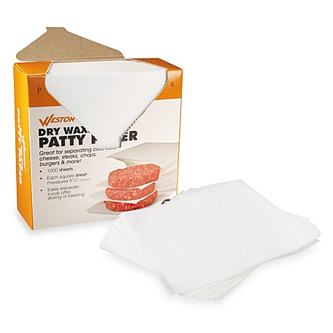 Patty Paper Sheets