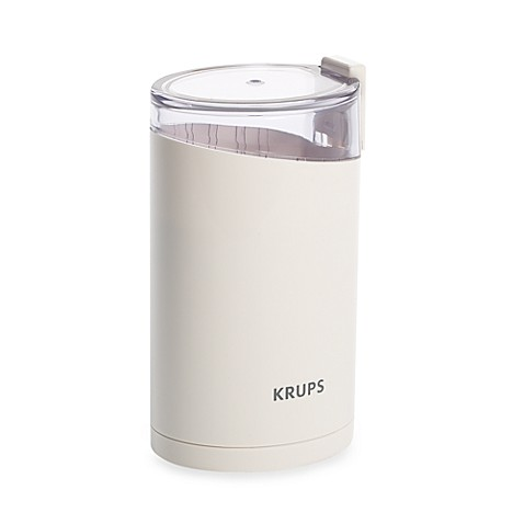 krups coffee grinder how to use