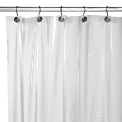 Heavy Gauge Frost Shower Curtain Liner