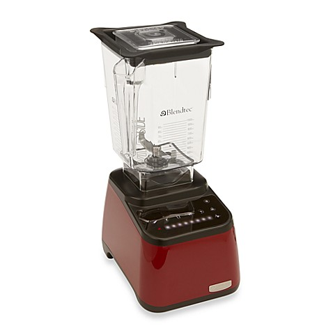 Blendtec® Total Blender Designer Series™ with WildSide Jar in Red