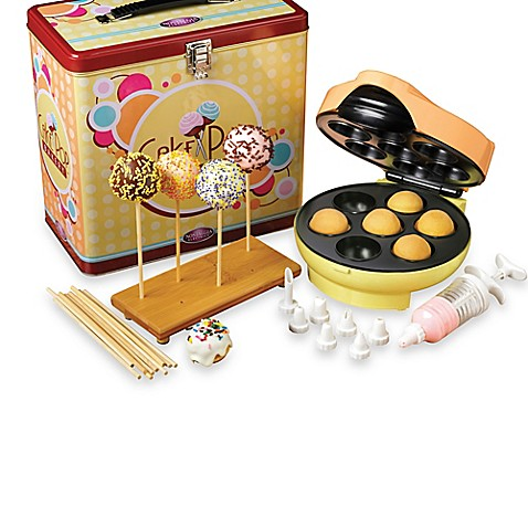 Nostalgia Electrics™ Cake Pop and Donut Hole Bakery Kit