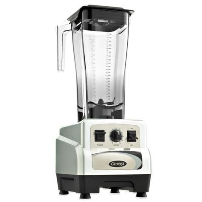 Omega® BL470S 82-Ounce 3-HP Variable Speed Commercial Blender with Pulse Control in Silver