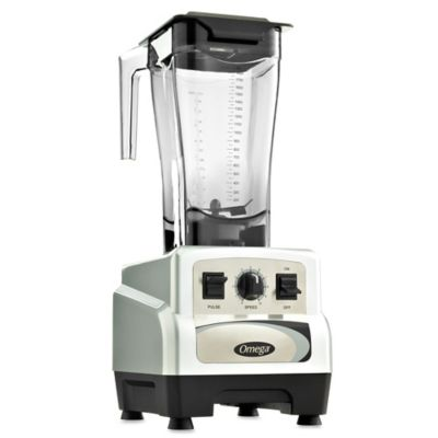 Omega® BL460S 64 oz. 3-HP Variable Speed Commercial Blender with Pulse Control in Silver
