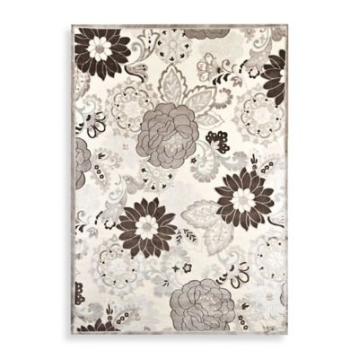 Reflections Floral 3-Foot x 5-Foot Indoor Area Rug