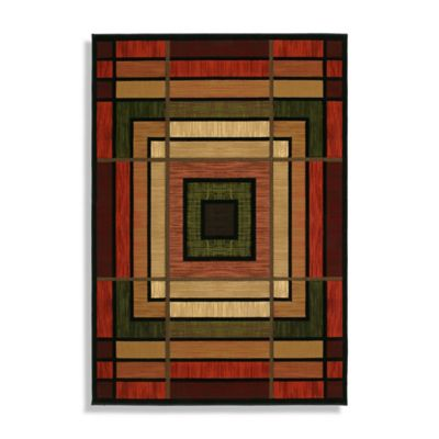 Ambience Terracotta 7-Foot 10-Inch x 10-Foto 6-Inch Rug