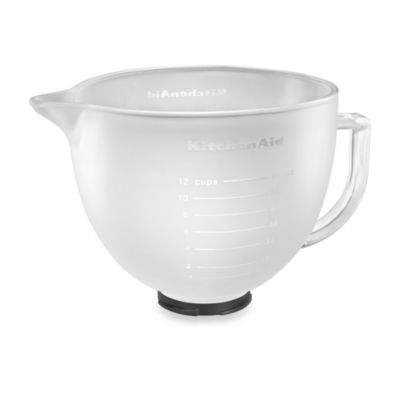 KitchenAid® Frosted Glass Bowl for 5-Quart Artisan and Tilt-Head Stand Mixers
