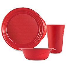 Preserve® Everyday Pepper Red Plastic Tableware