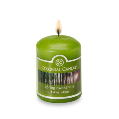 Colonial Candle® Spring Awakening Scented Candle in 1.7-Ounce Votive