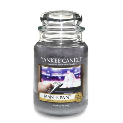 Yankee Candle® Man Town™ Large Classic Candle Jar Man Candle