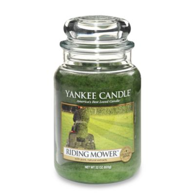 Yankee Candle® Riding Mower™ Large Classic Candle Jar Man Candle