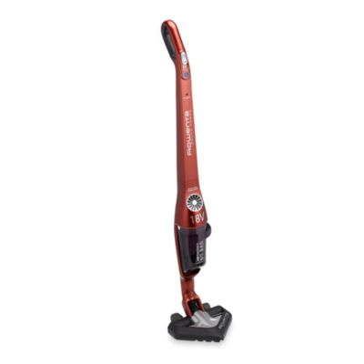 Delta Force 18V Cordless Bagless Stick Vacuum in Red