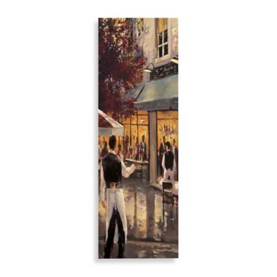 5th Avenue Cafe Detail Printed Canvas Wall Art