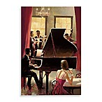 Piano Jazz Printed Canvas Wall Art