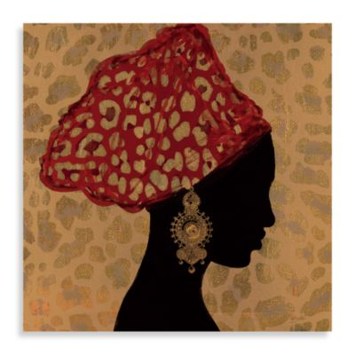 Global Chic Printed Canvas Wall Art