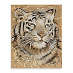 Safari Printed Canvas Wall Art in Tiger