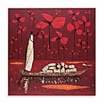 Crimson Sky Printed Canvas Wall Art