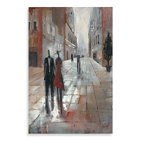 City People I Printed Canvas Wall Art