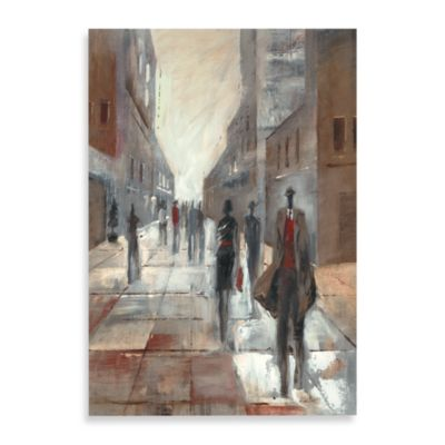 City People II Printed Canvas Wall Art
