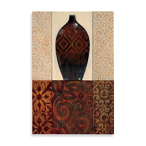 Tapestry Vessel II Printed Canvas Wall Art