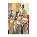 Cultural Trio I Printed Canvas Wall Art