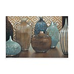 Exotic Urns I Printed Canvas Wall Art