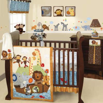 Lambs & Ivy® S.S. Noah 9-Piece Crib Bedding Set
