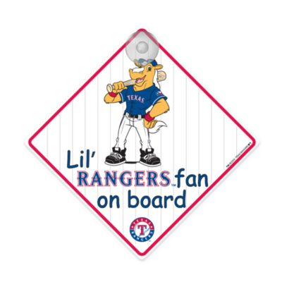Team ProMark® Lil' Fan On Board Signintex®as Rangers
