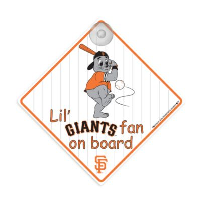 Team ProMark® Lil' Fan On Board Sign in San Francisco Giants