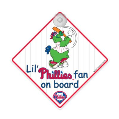 Team ProMark® Lil' Fan On Board Sign in Philadelphia Phillies