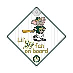 Team ProMark® Oakland Athletics Lil' Fan On Board Sign