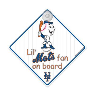 Team ProMark® Lil' Fan On Board Sign in New York Mets