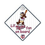 Minnesota Twins Team ProMark® Lil' Fan On Board Sign