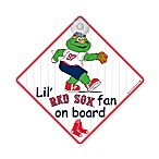 Team ProMark® Lil' Fan On Board Sign in Boston Red Sox