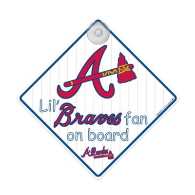 Atlanta Braves Team ProMark® Lil' Fan On Board Sign