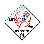 Team ProMark® Lil-Foot Fan On Board Sign in New York Yankees