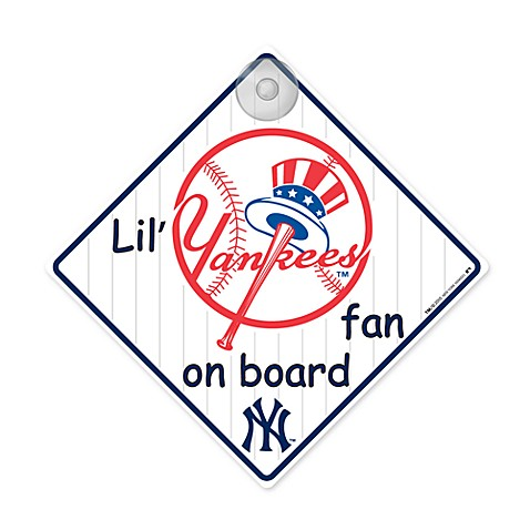 Team ProMark® Lil' Fan On Board Sign - New York Yankees